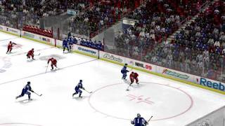 NHL 09 PC Gameplay (part 1)