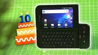 عشر سنوات على أندرويد   تعرف على أول جهاز بهالنظام!