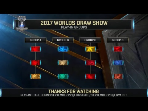 Worlds Draw Show 2017