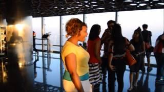 Munya & Epi Burj Khalifa Tour... Dubai.