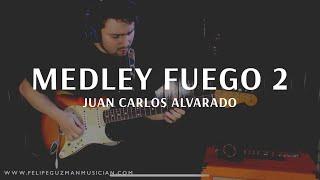 El Dios de Isreael es Poderoso - Medley Fuego 2 - Juan Carlos Alvarado Guitar Cover - Felipe Guzmán