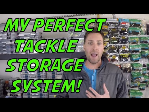 How I keep all my Fishing Tackle Organized!