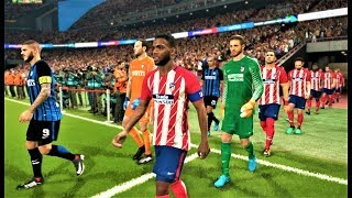 Atletico Madrid vs Inter Milan | All Goals & Full Match 2018 | PES 2018 Gameplay HD