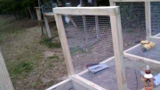 Raising Rabbits For Meat. Building Cage. Part 2