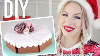 DIY: julklapps-tårta 🎄