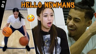 """She Hits Everything!"" Jaden Newman PROVES She's A Pro Shooter! Gets Trolled By Julian & Cries!?"
