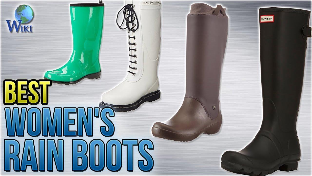 10 Best Women S Rain Boots 2018 Youtube