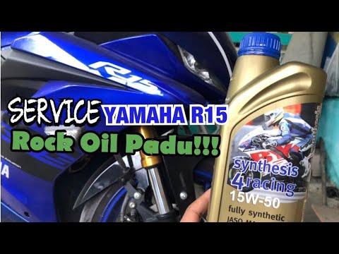 ROCK OIL SERVICES | YAMAHA R15 V3 | MOTORVLOG