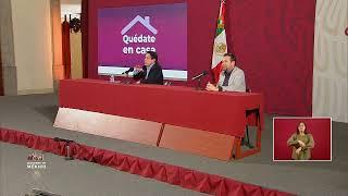 #ConferenciaDePrensa: #Coronavirus #COVID19 #QuédateEnCasaYa   29 de marzo de 2020