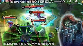 NEW HERO TERIZLA SO OP 1 HIT SAVAGE?! well.. almost... kinda.. LOL