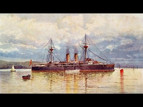 La pérdida de la flota española en Santiago de Cuba (1898), documental