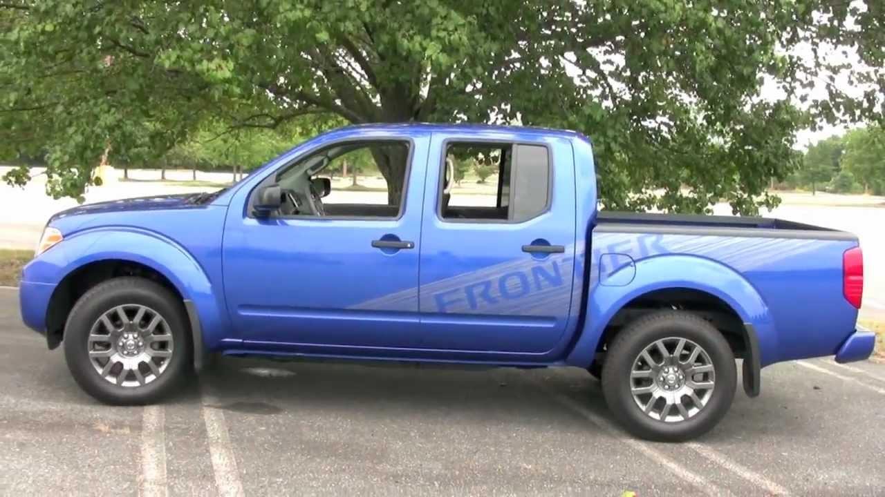 2012 Nissan Frontier CC 4x4 SV Sport Midsize Truck, Detailed ...