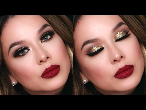 015eb9ffc2c New Years Eve Makeup Tutorial | Holiday Look | Vegas_Nay - YouTube