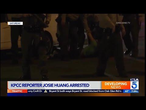 Sheriff Villanueva addresses violent arrest of reporter, shooting of 2 deputies