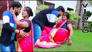 लेल माजा अकबारी में लेके #HD  Lado Madhesiya & Antra Singh Priyanka का Bhojpuri Hit Song 2019