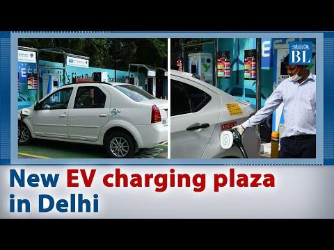 New EV charging plaza in Delhi