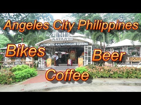 Angeles City Philippines : Bikes, Coffee and Beer
