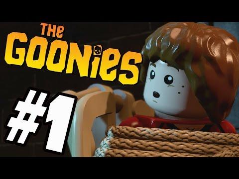 LEGO Dimensions: The Goonies Walkthrough Part 1 Sloth Loves Choclate (HD)