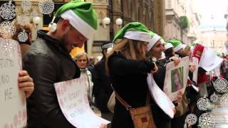 Groupon - flash mob di Natale #RegalaSorprese