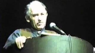 Murray Bookchin - (1/11) - Waterloo 1985