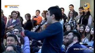 Վարչապետը հյուրընկալվել էր Հայաստանի Ամերիկյան Համալսարանում