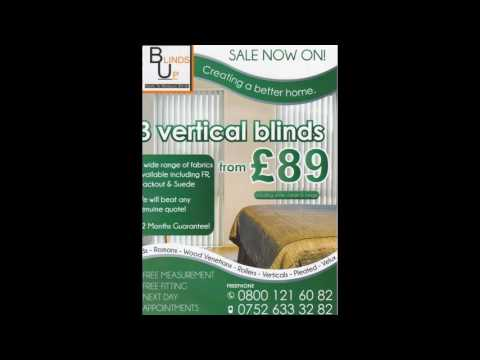 Made to Measure Blinds by Blinds Up