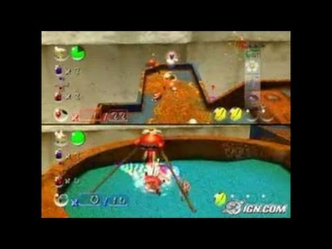 Pikmin 2 Gamecube Gameplay Battle Mode Rusted Level Youtube