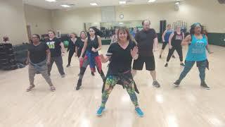 Dance fitness- Vou Desafiar voce by Mc Sapao