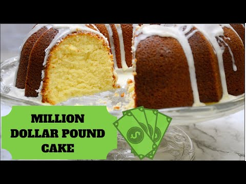 7 Ingredient | Million Dollar Pound Cake