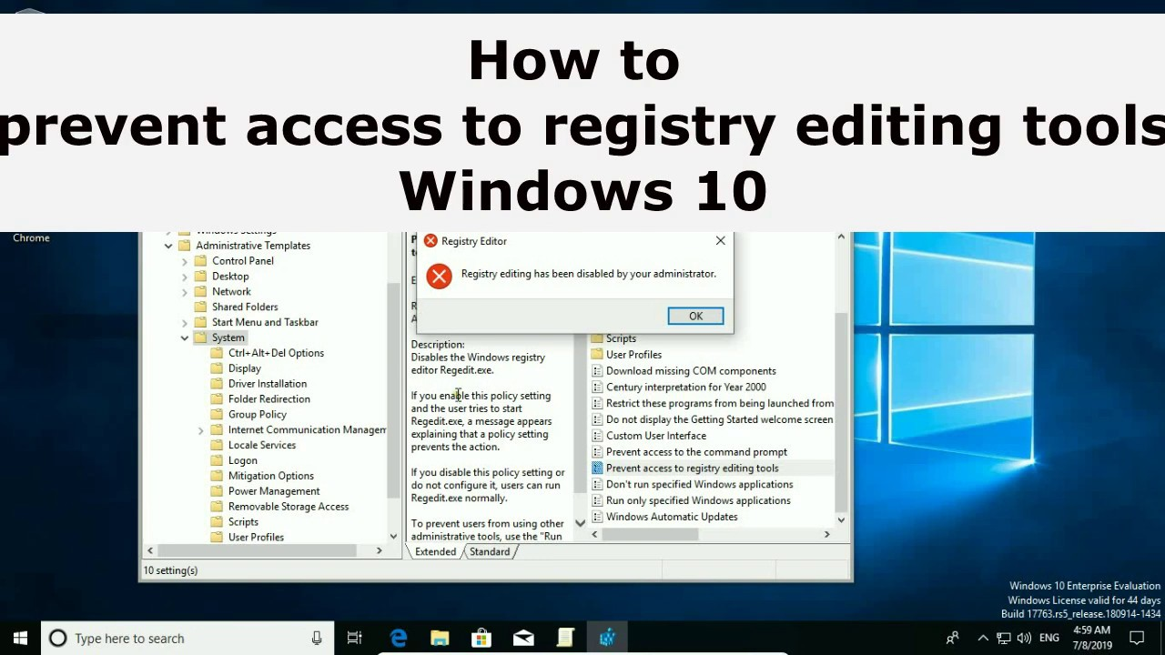 Windows 10 Folder Redirection