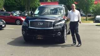 2011 Infiniti QX56 Tech Package Review - In 3 minutes you