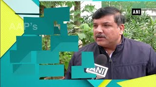 Anaj Mandi fire: AAP's Sanjay Singh accuses BJP of playing politics over the tragic incident