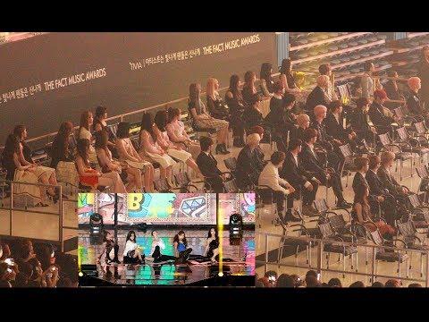 여자친구, 아이들, 스트레이키즈, 더보이즈, 청하, 모모랜드 Reaction to 레드벨벳 Stage (RBB + You Better Know) 4K 190424
