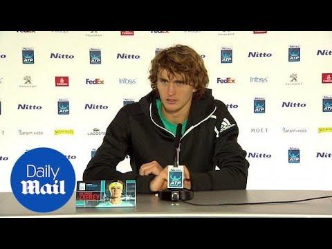 Alexander Zverev speaks on being booed after defeating Roger Federer