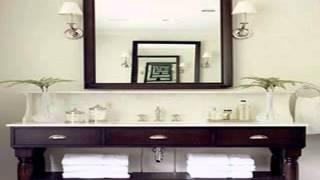 Diy Bathroom Vanity Mirror Decorations