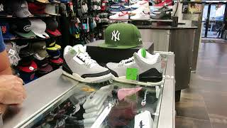 Nike Air Jordan 3 Chlorophyll, at Street Gear Hempstead NY