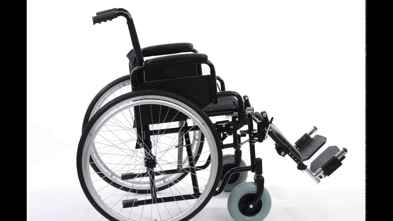 Wollex W312 Manuel Engelli Tekerlekli Sandalye Youtube