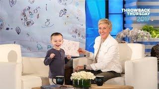 #TBT Ellen Meets Young Geography Expert Nate Seltzer