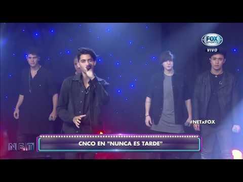 Cnco nos hicieron bailar con reggaetón lento desde argentina
