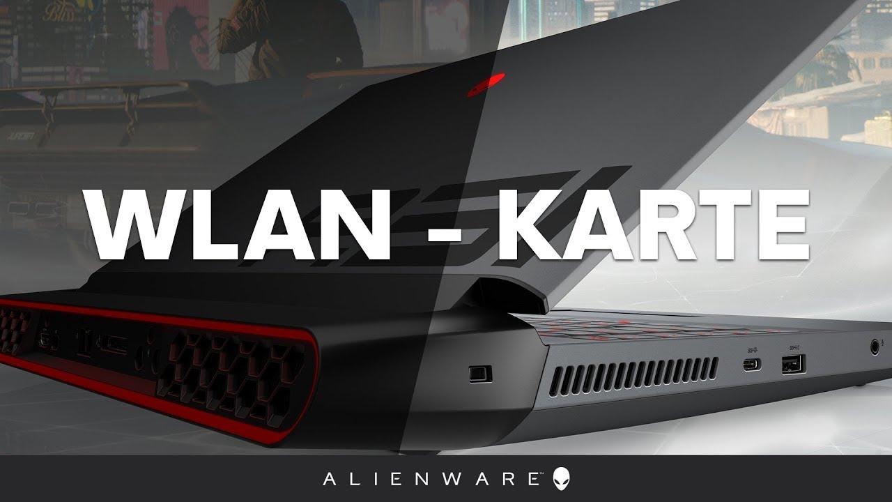 Alienware Area 51m Demontage - WLAN