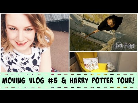 Moving Vlog #5 & Harry Potter AWESOMENESS! (#Weekly Vlog 28) | lilmisschickas