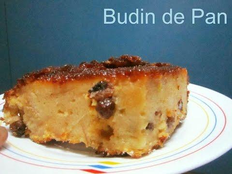 BUDIN DE PAN CASERO (PASO A PASO - CON JUGO DE LIMON Y NARANJA)