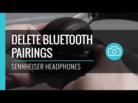Delete Bluetooth Pairing - Sennheiser Wireless Headphones