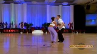 Showcase Winners - Benji Schwimmer & Torri Smith::2011 US Open Swing Dance Championships