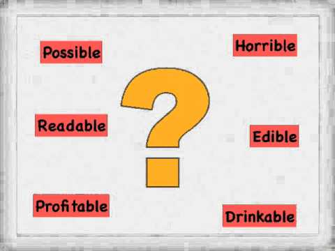 SPELLING IBLE ABLE - YouTube