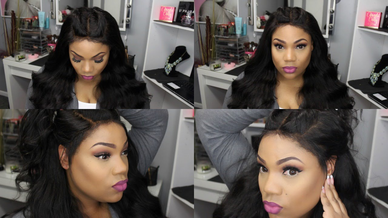 Lace Frontal Wig Install   Dyhair777