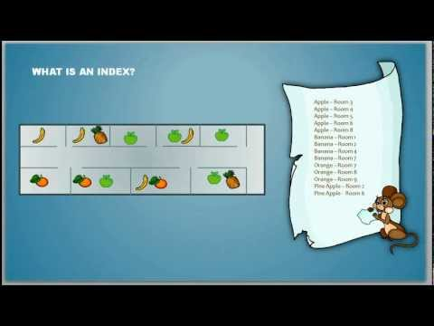 What is an Index - Database Tutorial 8