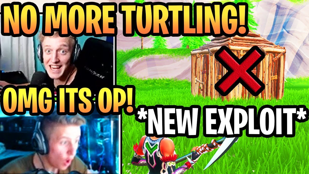 Download Streamer Shows NEW EXPLOIT to *COUNTER TURTLING* in Fortnite Season 10 (MUST NERF)