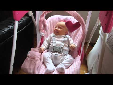 c8f6e2d4d Graco baby delight anti-colic swing - YouTube