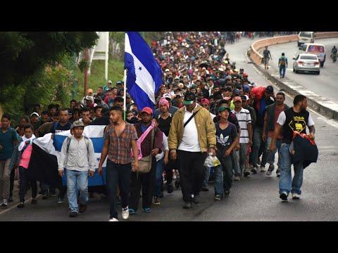 فرانس 24:Trump threatens to shut Mexico border, send military over migrant caravan